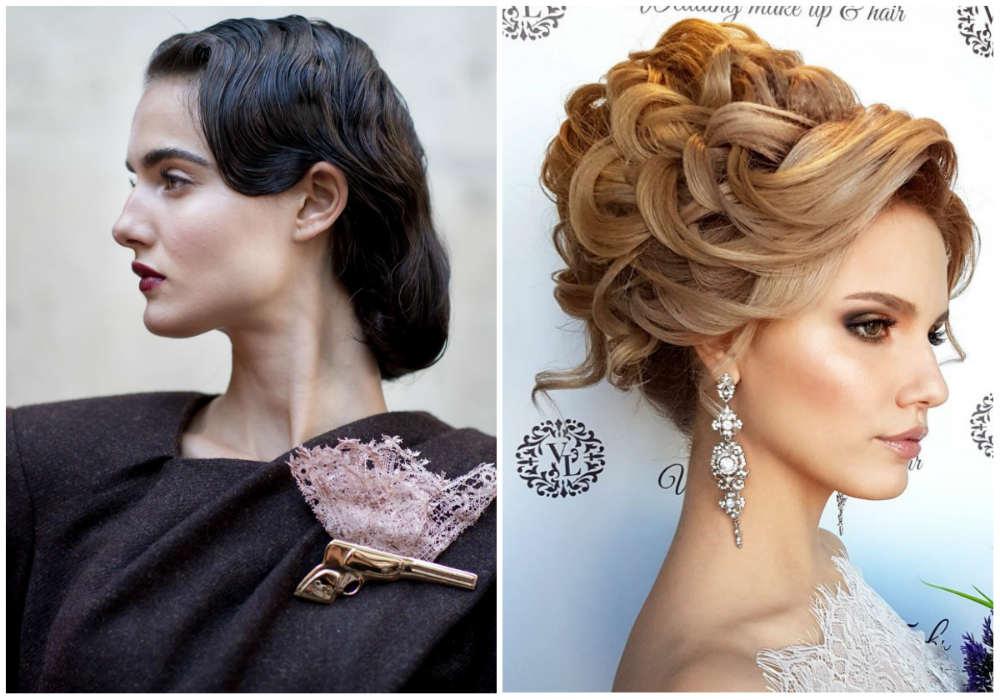 Модный тренд волос 2018 года, утонченные вешерние прически