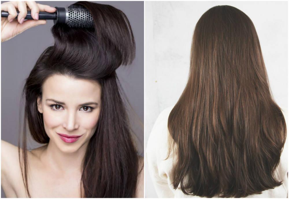 Модный тренд волос 2018 года, красивые длинные и прямые волосы