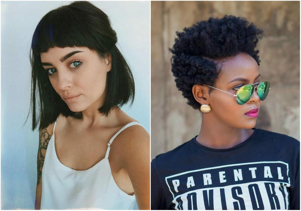 Модный тренд волос 2018 года, короткие и средние длины волос