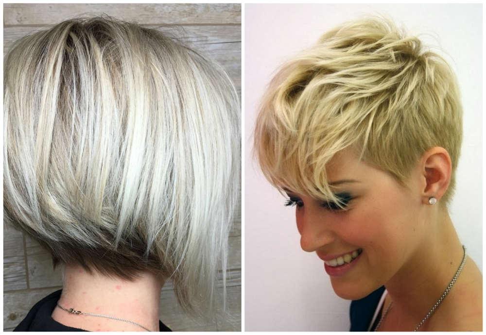 Модный тренд волос 2018, ультракороткие и каре стрижки для модниц