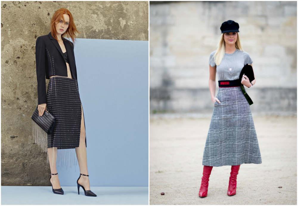 Модные юбки 2022 года, самые свежие и стильные тенденции года