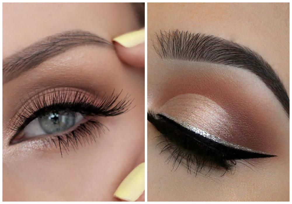 Модный макияж глаз 2018 года, красивый макияж глаз для модниц