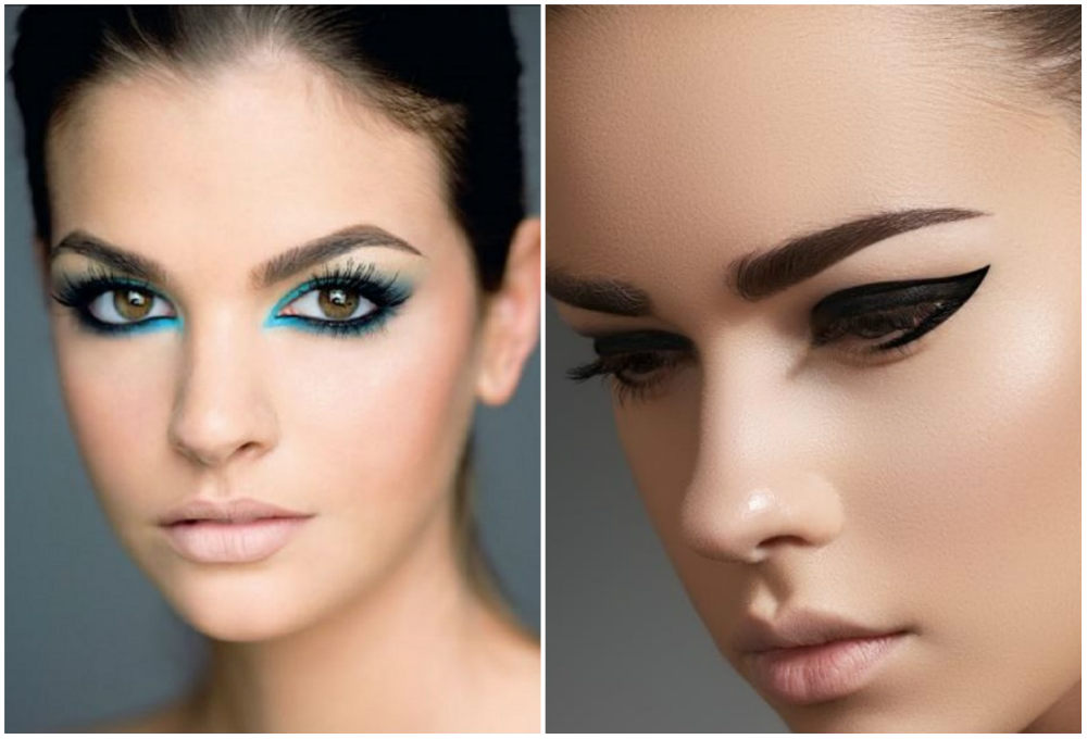 Разноцветный, трендовый и ультрастильный макияж глаз 2018 года
