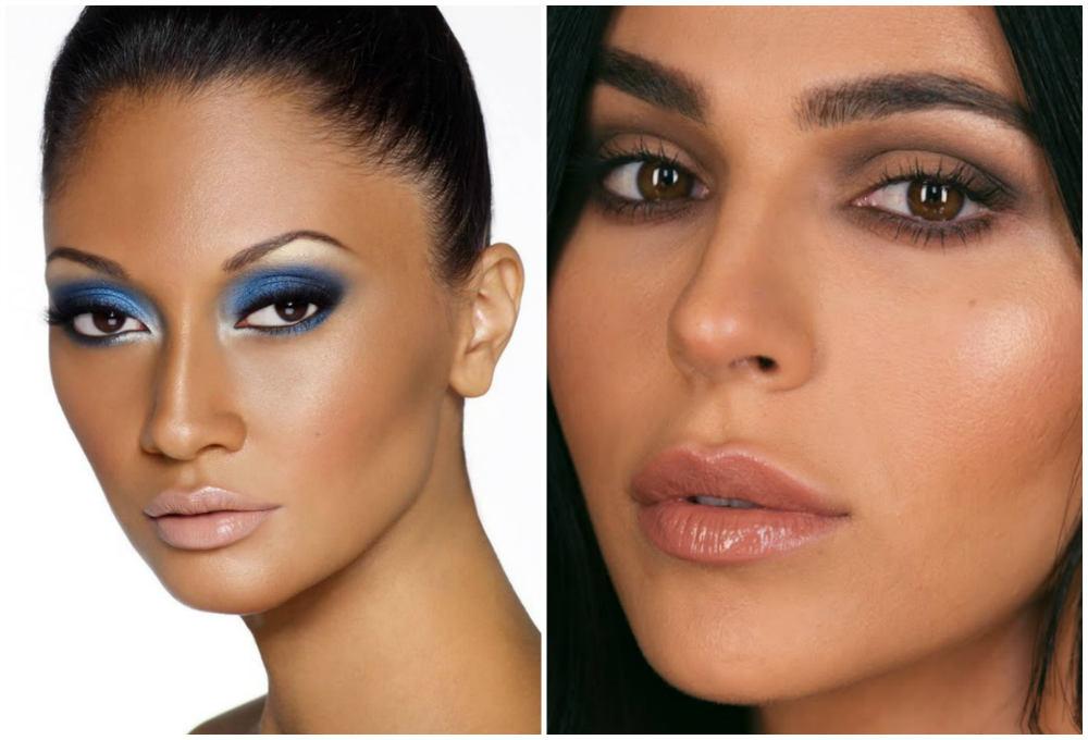 Ультрастильный и красивый макияж для карих глаз 2018 года