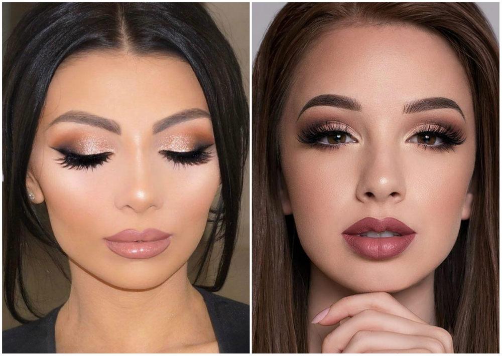 Мейкап 2018  эффективная техника и идеи модного макияжа 160ca74091fe1