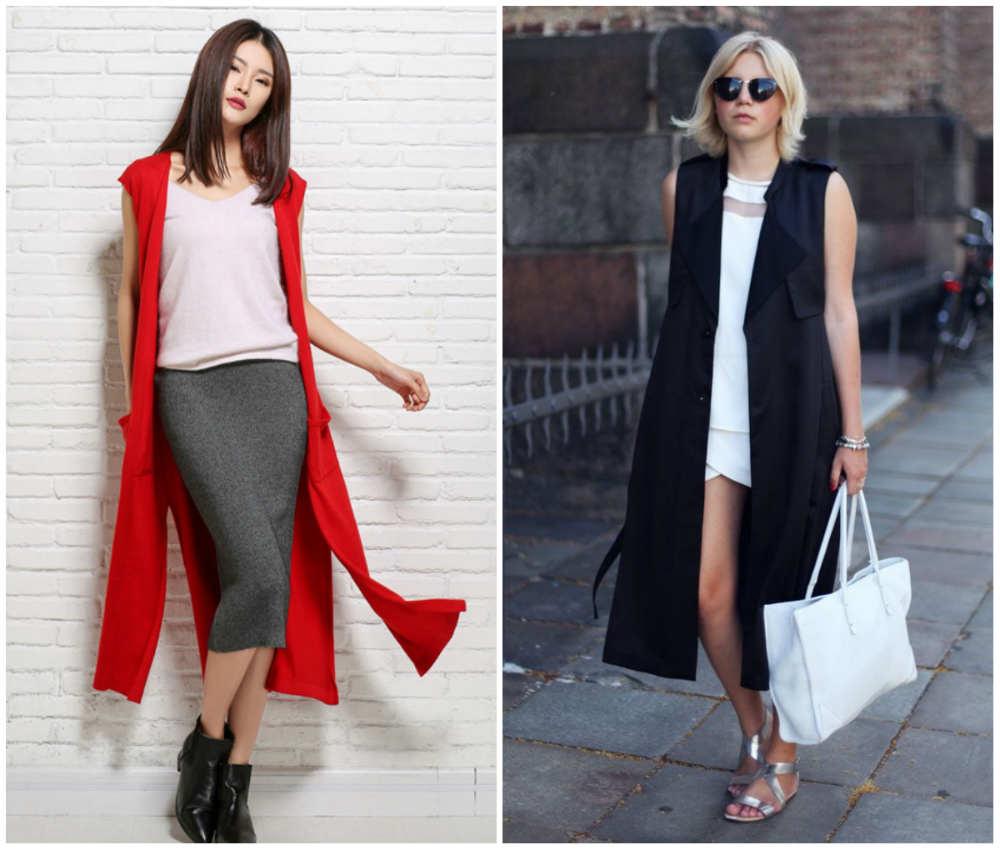 Длинные модные жилеты для женщин, лучшие и свежие тренды