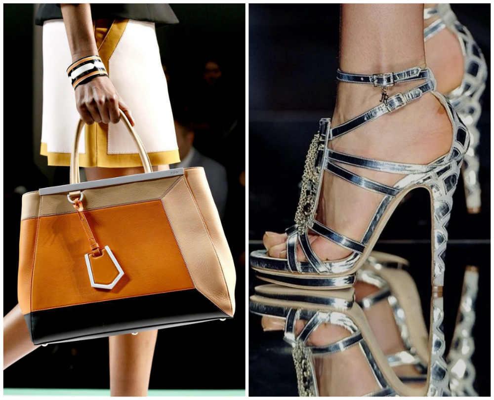Женская мода 2018 года, модные и фешенебельные туфли и сумки