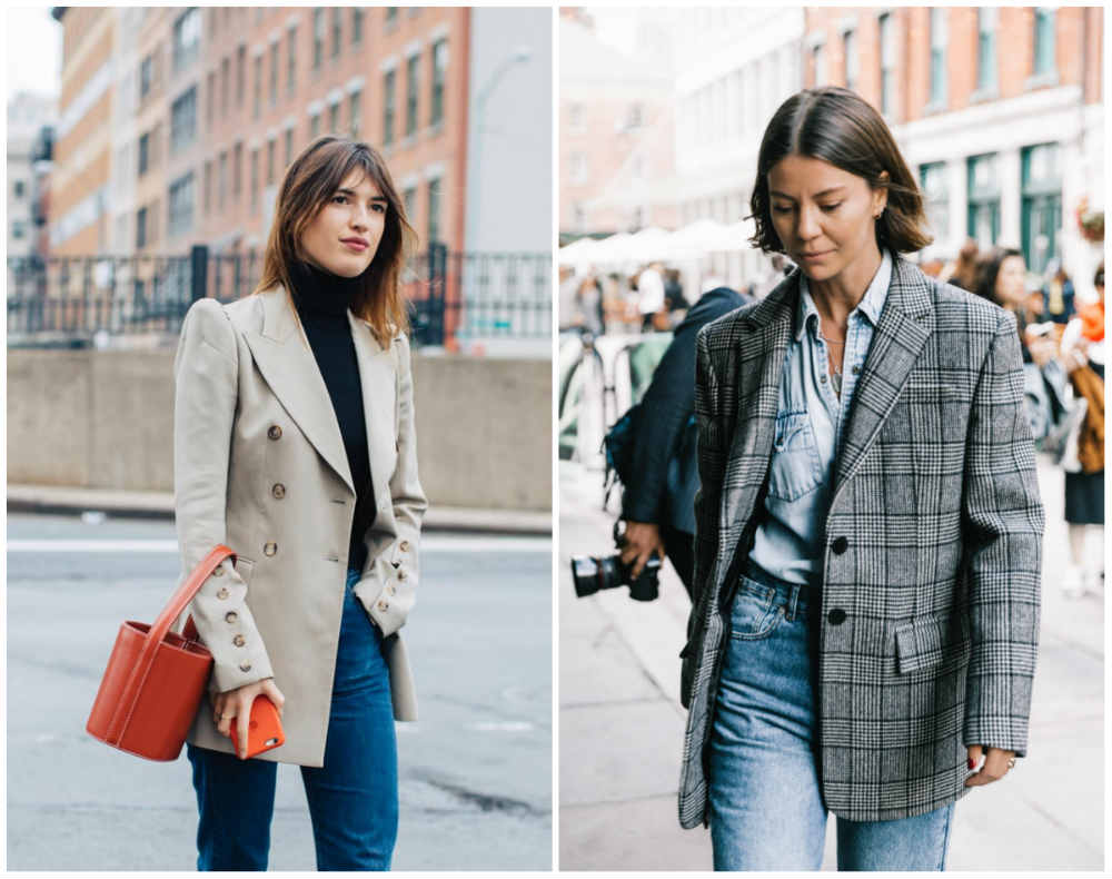 Модные тренды 2018 года, стильные и модные пиджаки и куртки