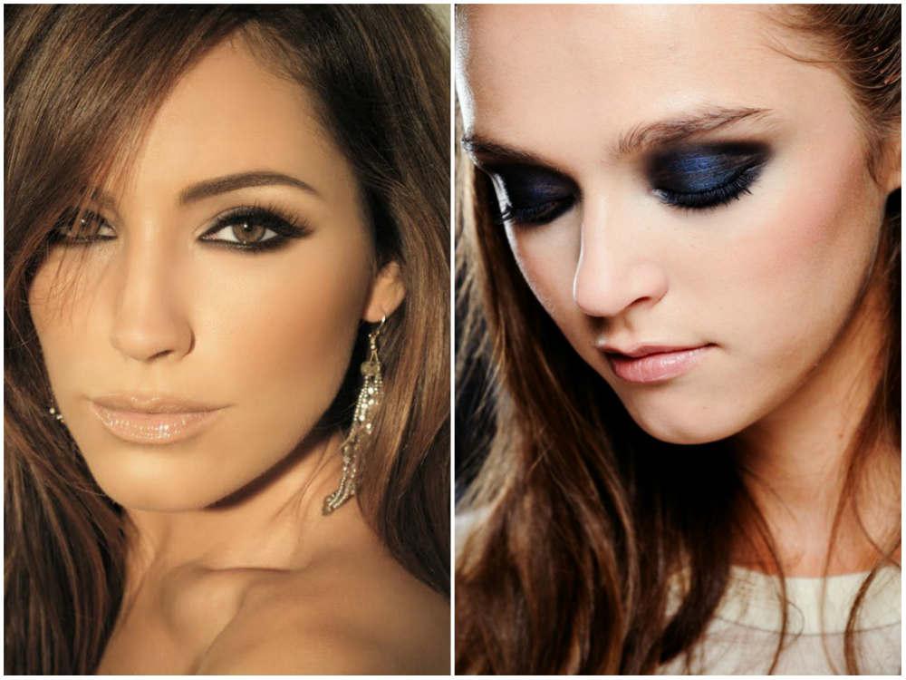 Смоки 2022 года, эффектный и элегантный дымчатый макияж для глаз