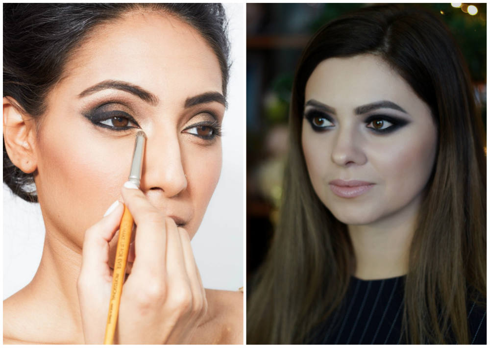 Традиционный смоки 2022 года, трендовый и стильный макияж для глаз