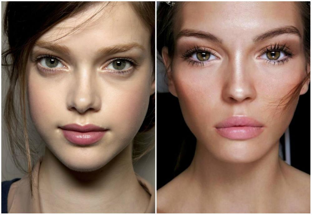фото макияж без макияжа