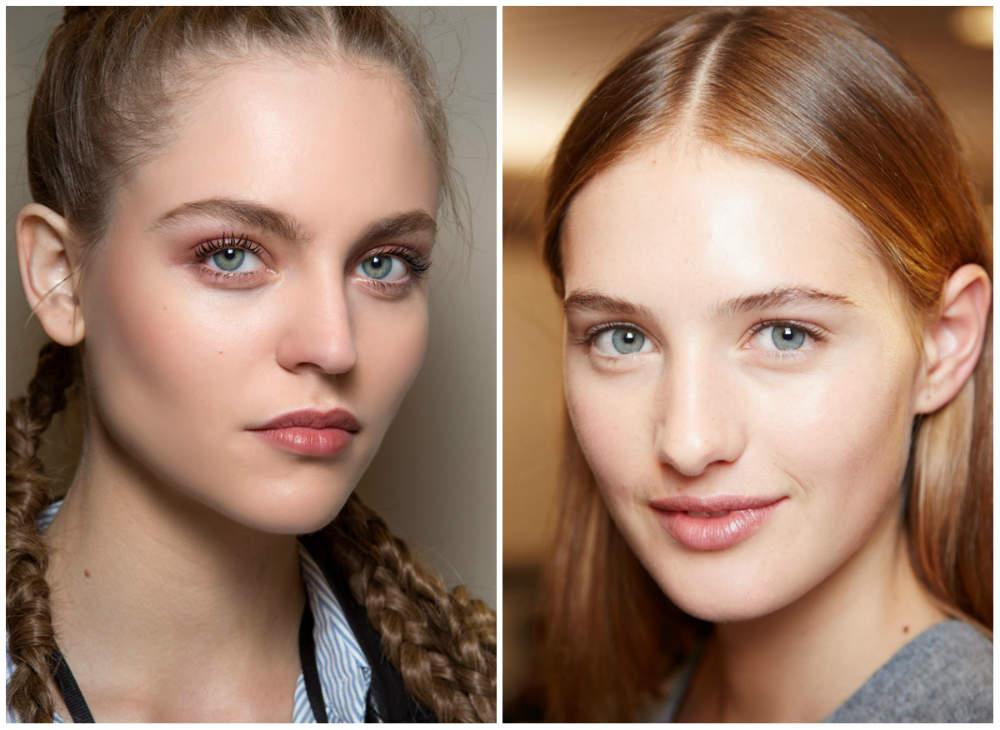 Красивый, безупречный и утонченй макияж без макияжа 2018 года