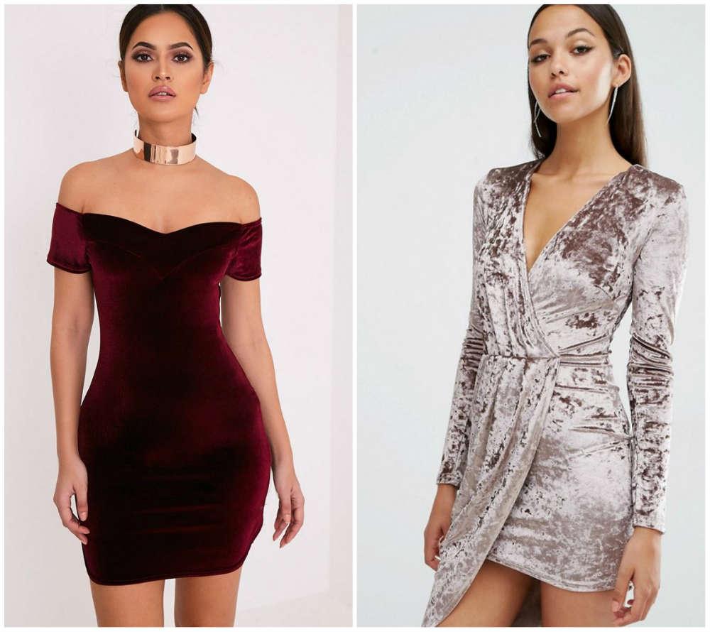 Самые стильные и трендовые бархатные платья 2018 года для модниц