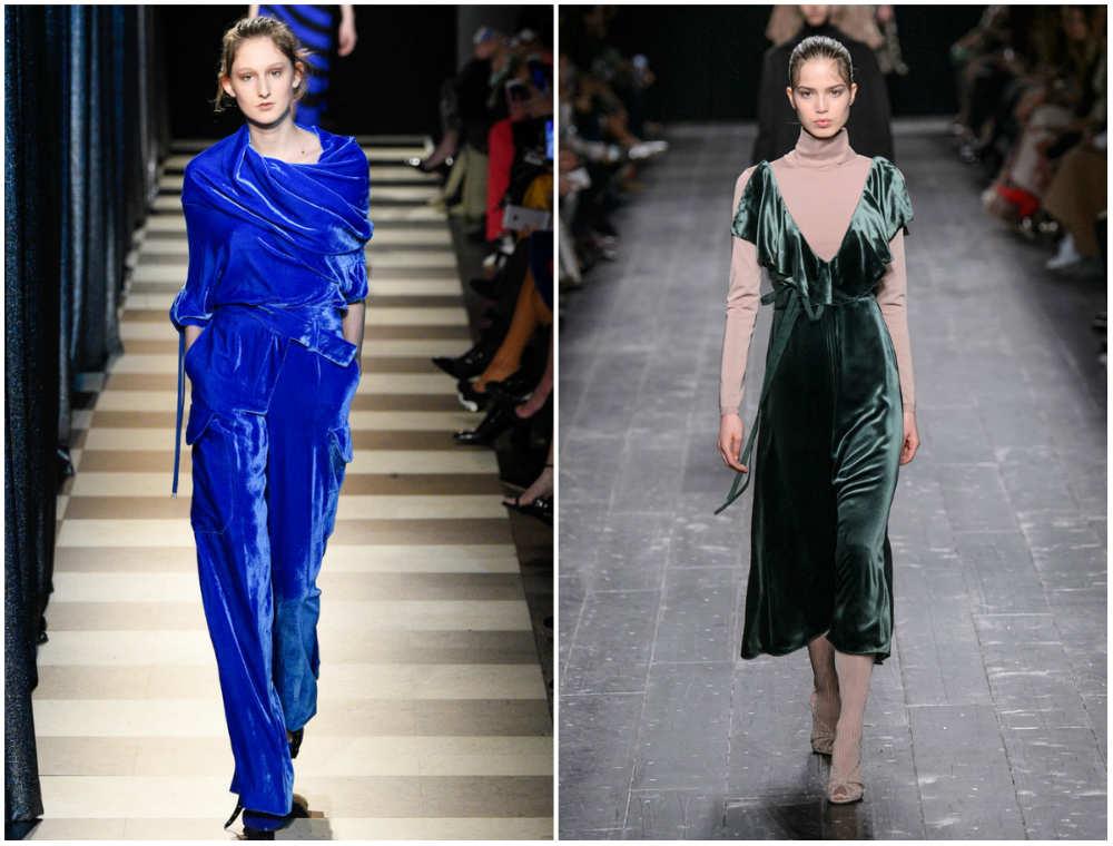 Бархатные платья 2020 года, разноцветные и разнообразные модные платья