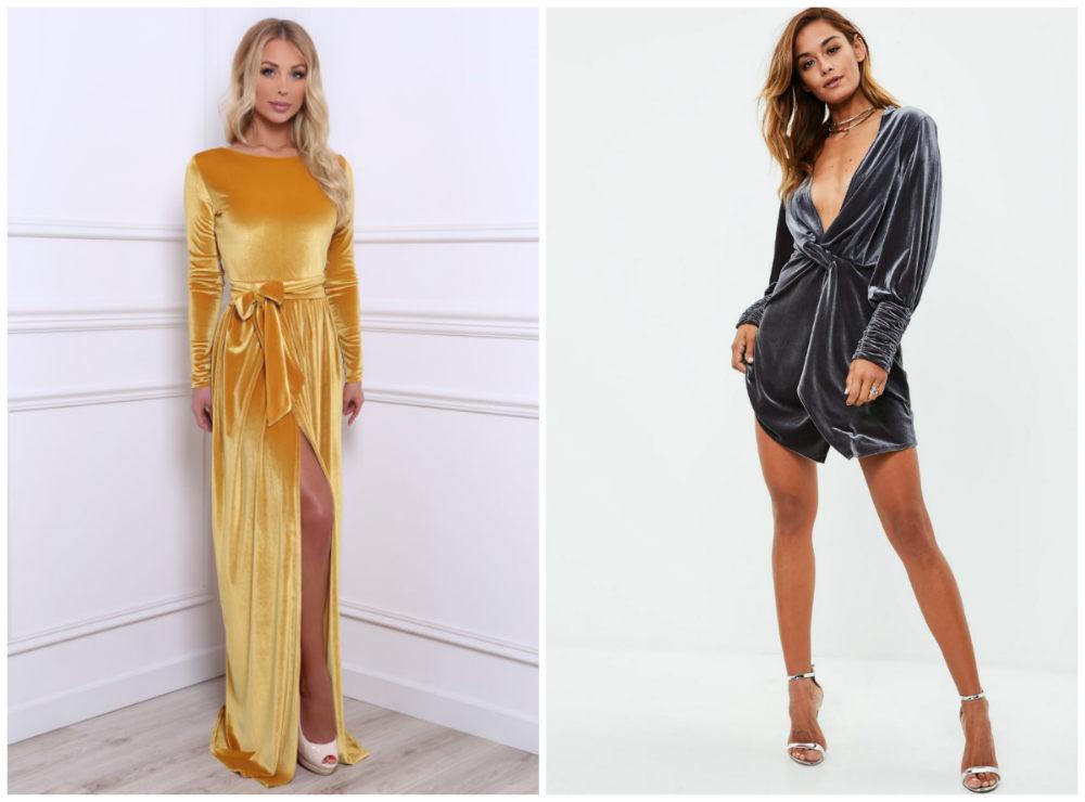 Экстравагантные, безупречные и модные бархатные платья 2018 года
