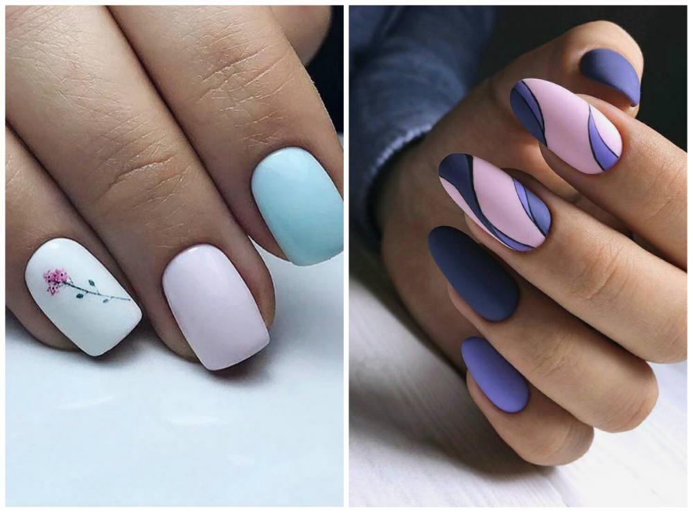 Весенний маникюр 2018 года; весенний дизайн ногтей для модниц
