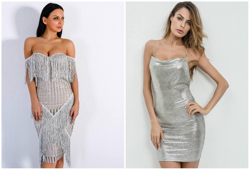 Блестящие модные летние платья для вечеринок, лучшие трендыы