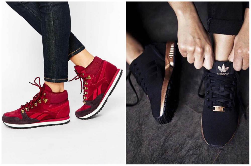 Новомодные, трендовые и стильные кроссовки, тренды и тенденции