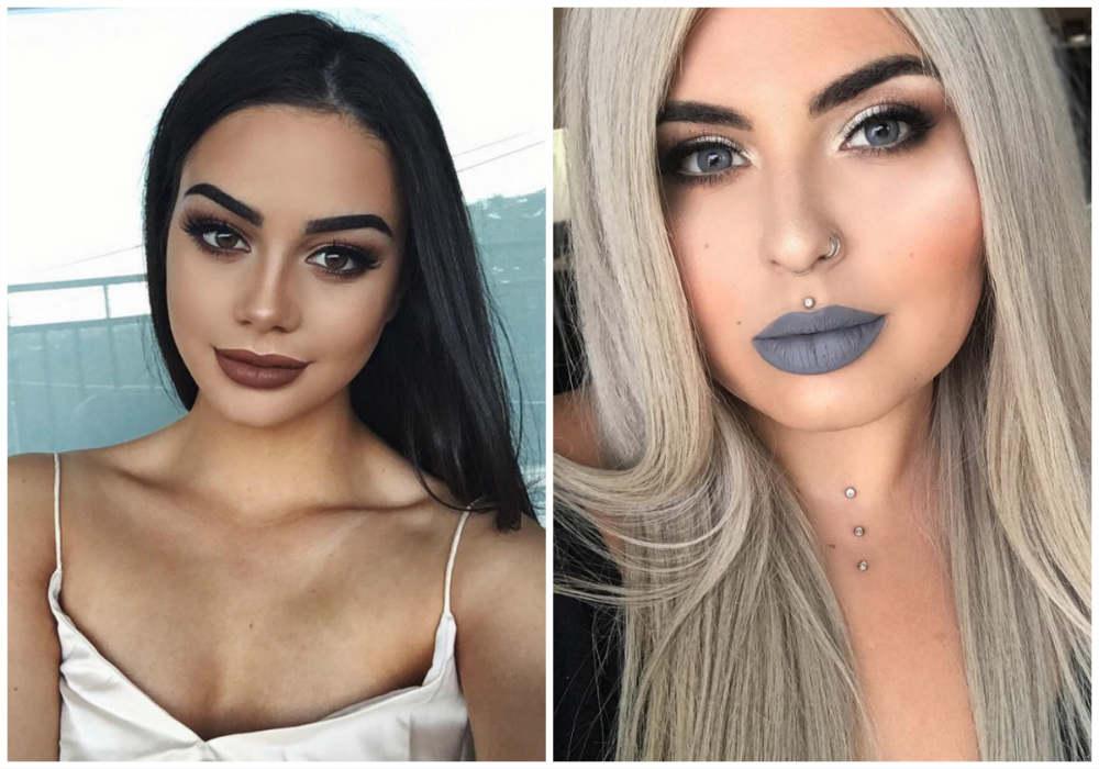 Стильный и модный макияж 2018 года для современных модниц