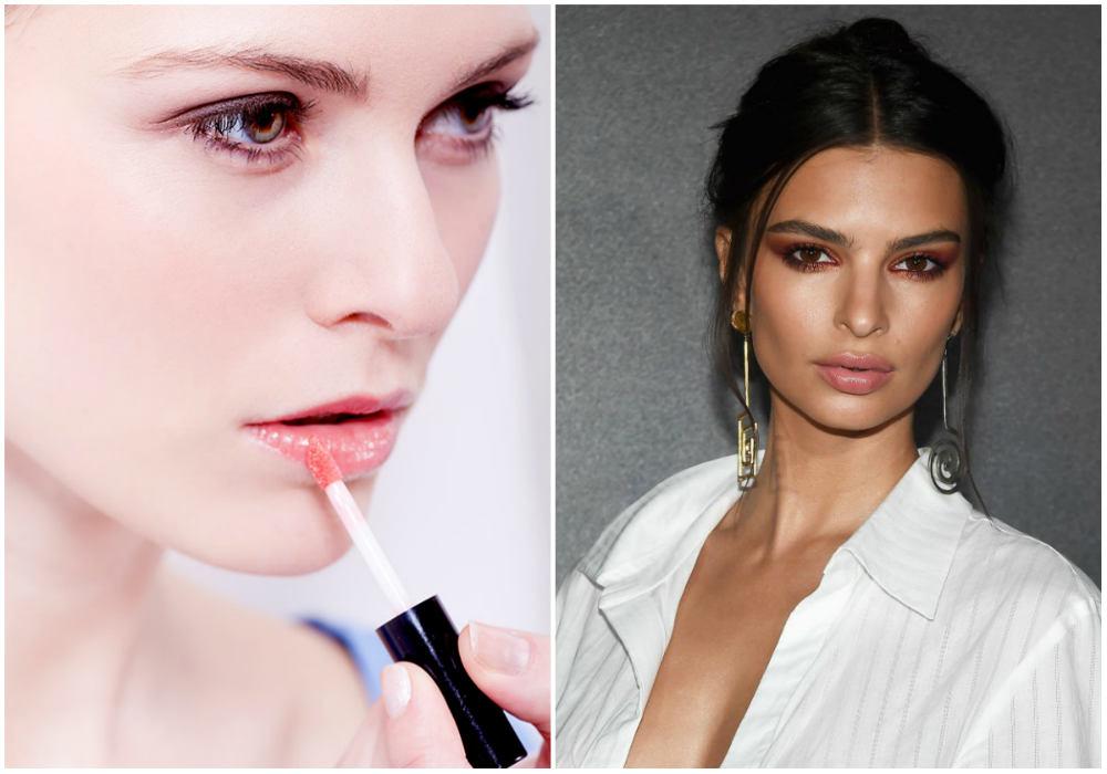 Лучшие тренды макияжа 2020 года, прозрачный и нежный блеск для губ