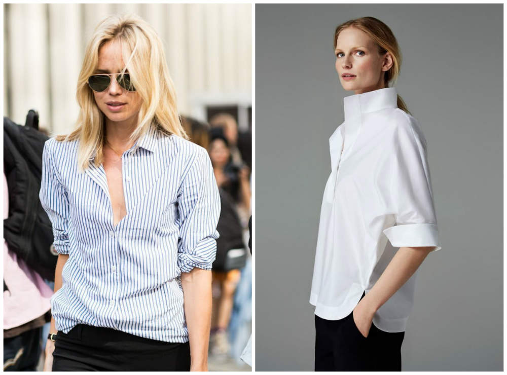 Модные и стильные женские рубашки 2018 года для модных девушек