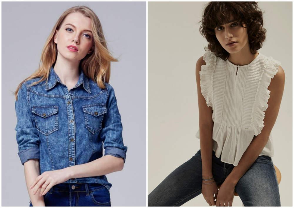4d0c522992c Женские рубашки 2018  модные рубашки 2018 (тренды на фото)