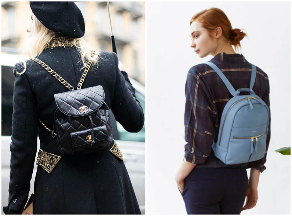 Самые стильные, карсивые и модные рюкзаки 2018 года для модниц