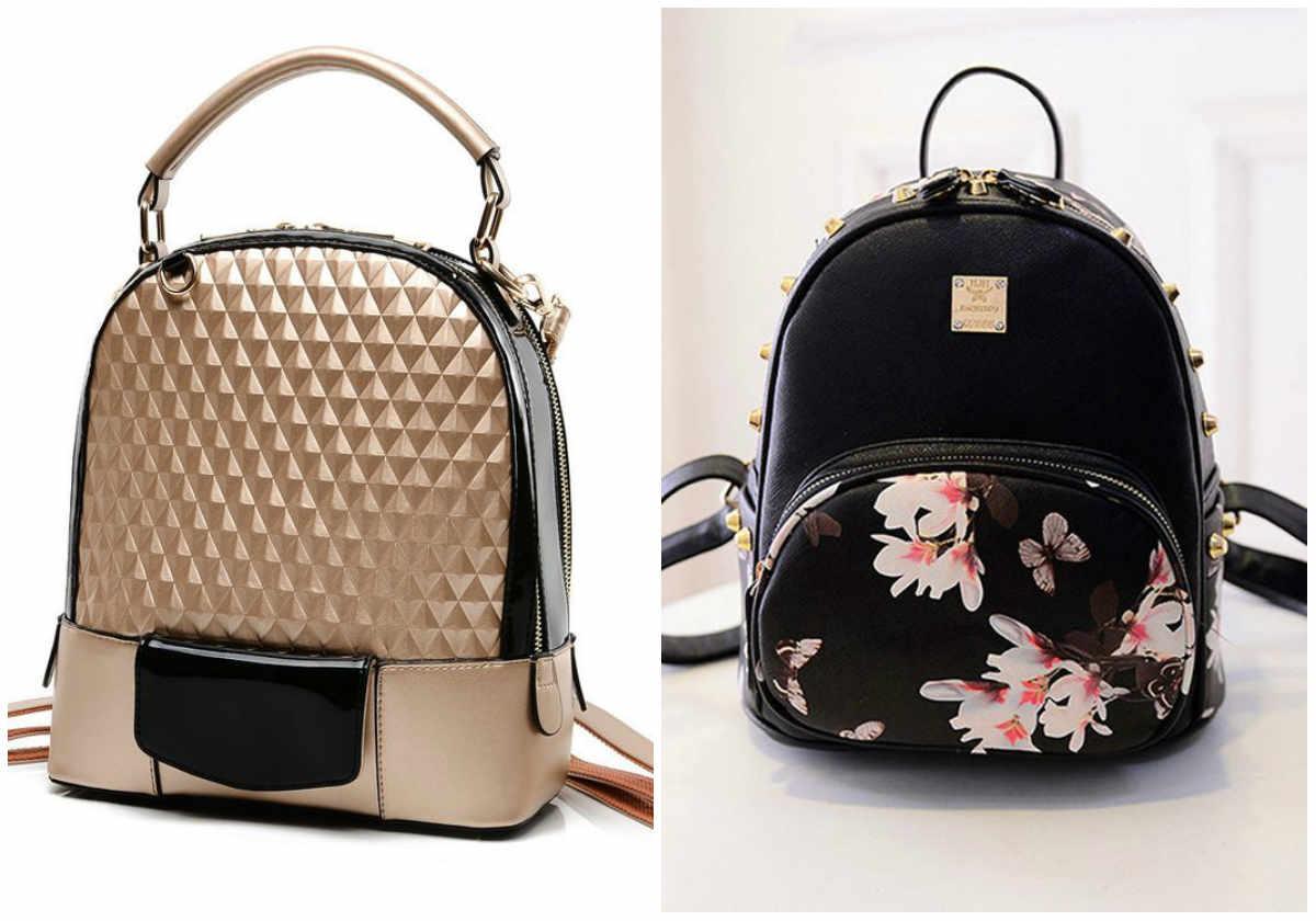 Модные рюкзаки 2018 года разных размеров и дизайнерских решений