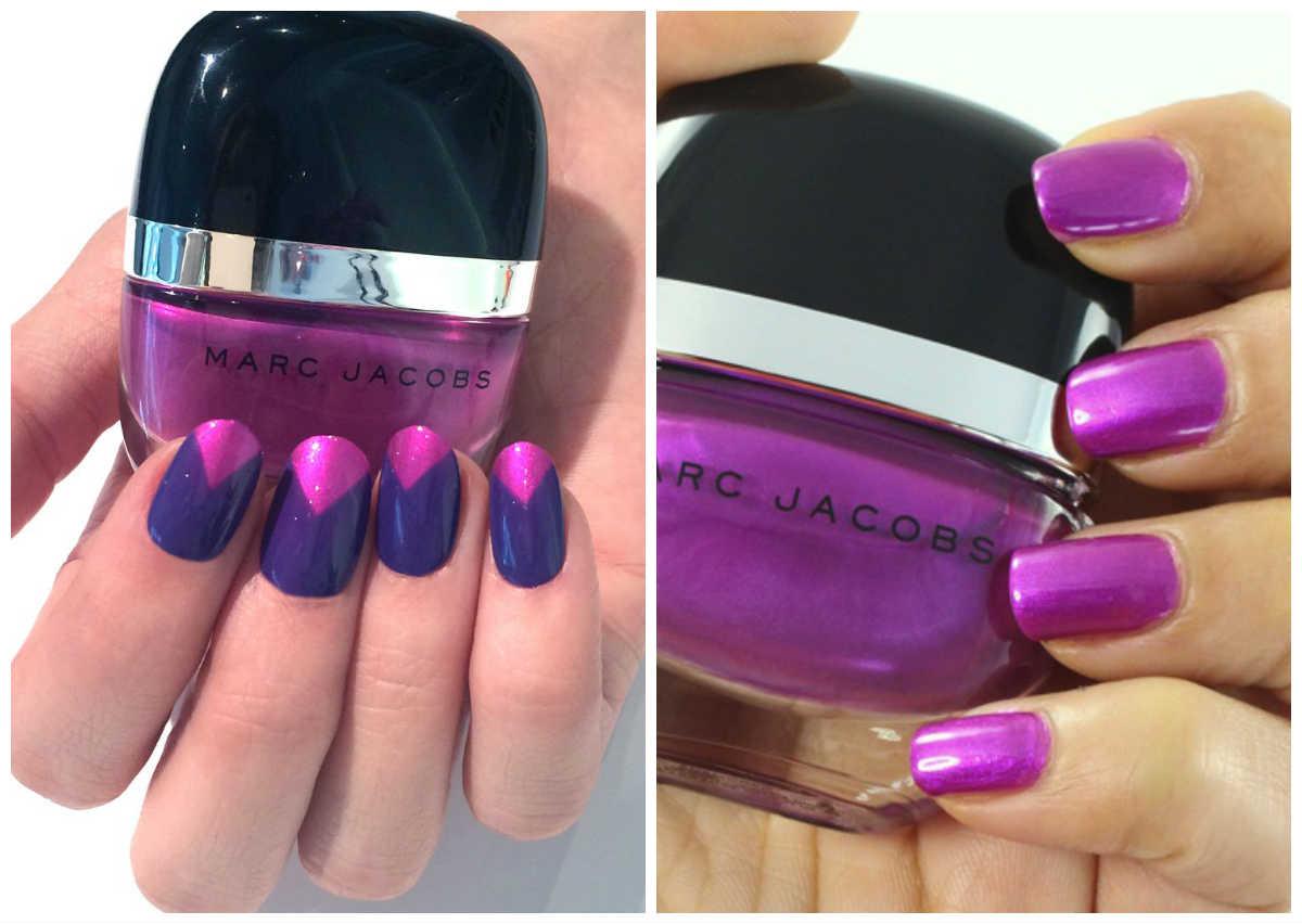 Ногти фиолетового цвета, самые последние тренды и тенденции
