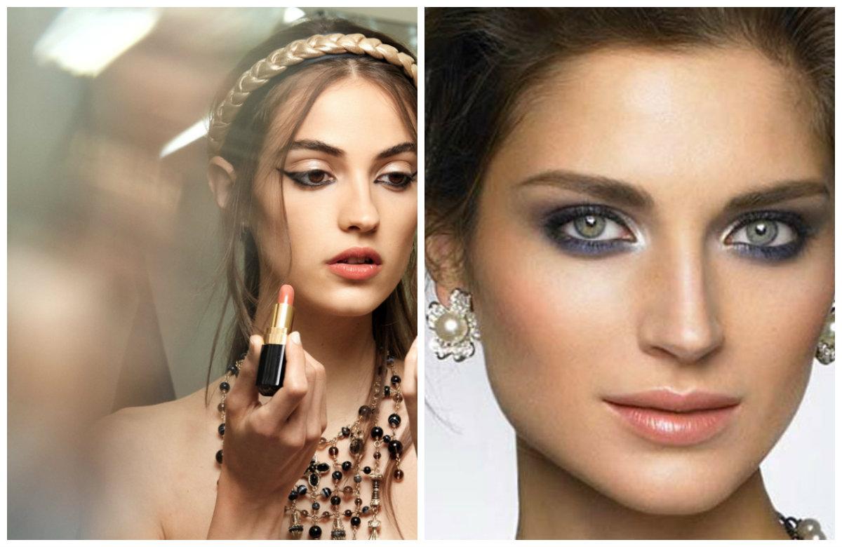 Вечерний макияж 2019, нюдовые натуральные оттенки макияжа