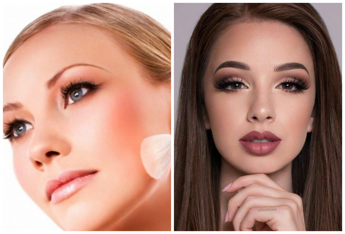 Модный макияж 2019, натуральный естественный образ