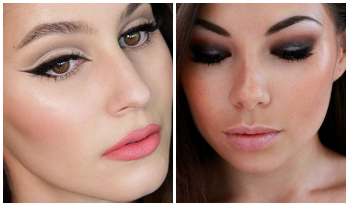 Модный макияж 2019, нежные персиковые оттенки