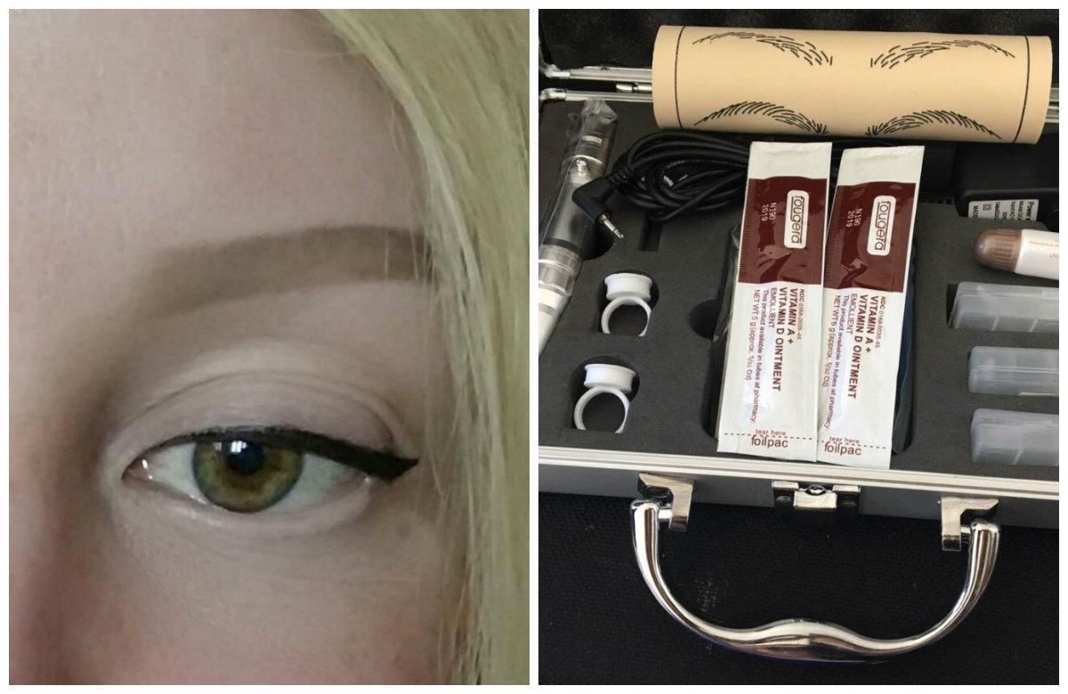 Перманентный макияж 2019, косметический набор для перманента
