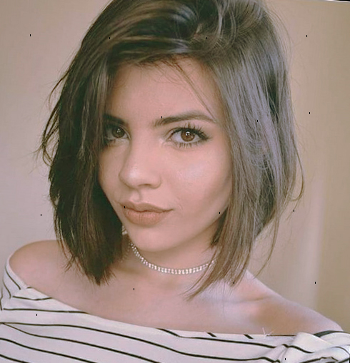 Каре на средние волосы фото 2019