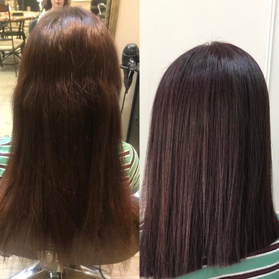 Тенденции цвета волос 2019