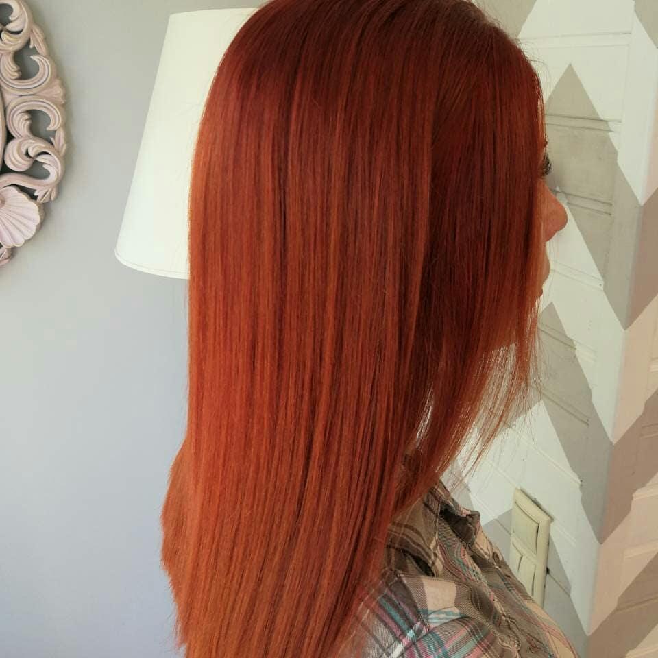 Средние-волосы-2019-рыжие-волосы