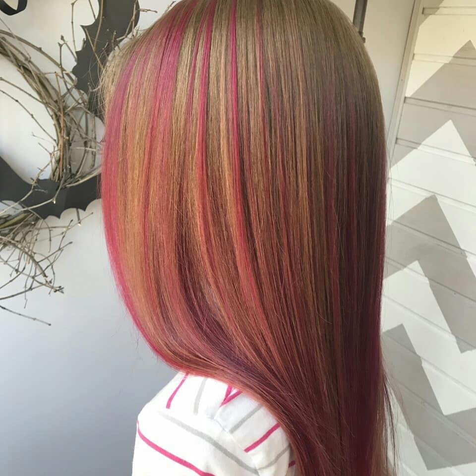 Стрижки-на-длинные-волосы-2019-женские-фиолетовый-блонд