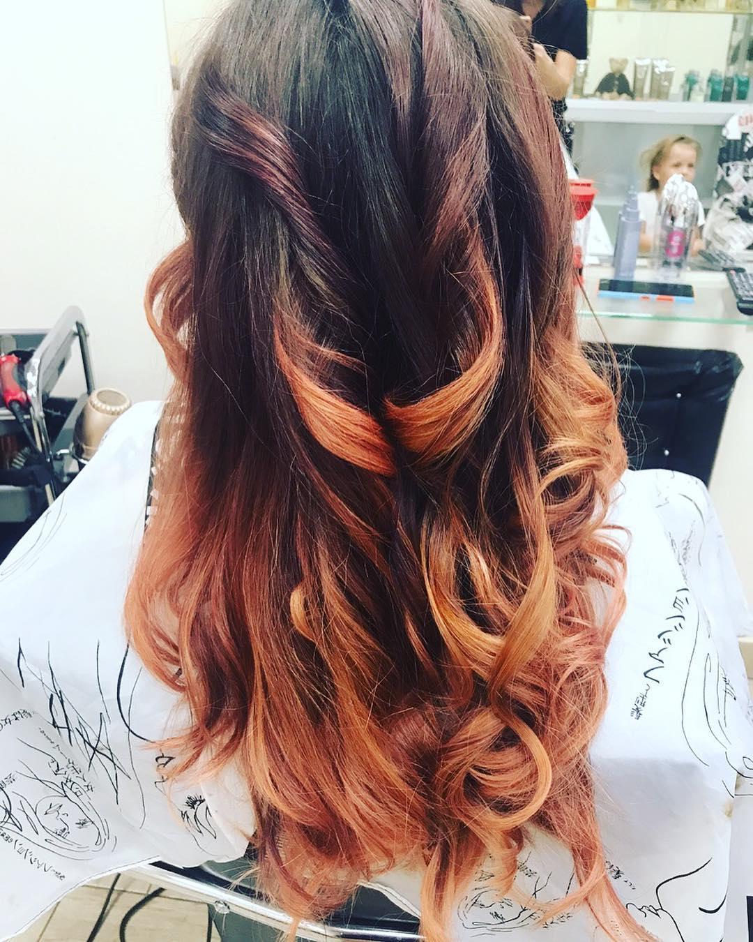 модные-стрижки-волос-2019-омбре