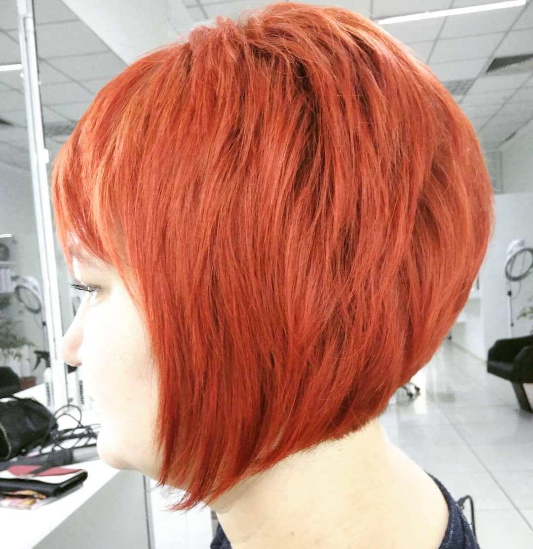 стрижки-на-короткие-боб-каре-2019-лесица-рыжие-волоси