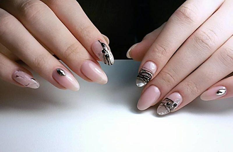 гель-на-короткие-ногти-2019