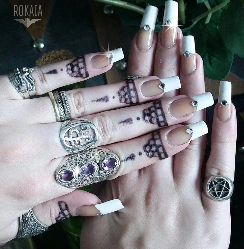френч-на-длинных-ногтях-2019