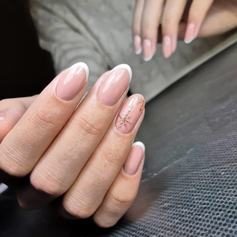 френч-2019-на-короткие-ногти