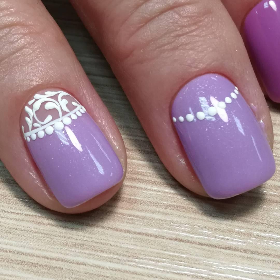 Фиолетовый Маникюр 2021; Все Про Модные Ногти Фиолетового Цвета