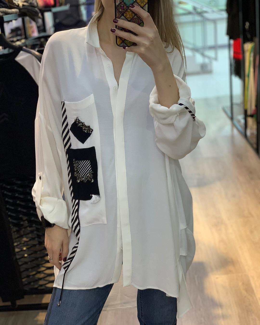 Женские-рубашки-2020;-модные-рубашки-2020-(тренды-на-фото)