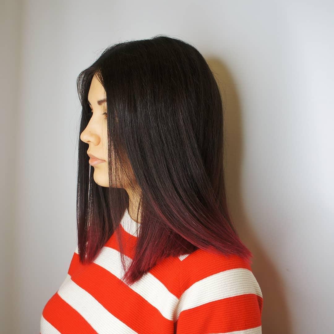 Темные-волосы-2022:-окрашивание-и-стрижки-на-темные-волосы
